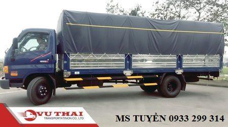 Chành xe chuyển hàng đi Phan Rang