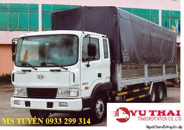 Chành xe chở hàng ghép ra Phú Yên