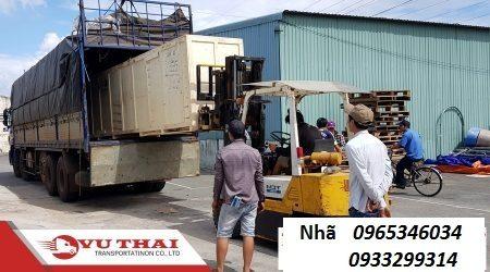 Chành xe tải ghép hàng Đồng Nai ra Nghệ An