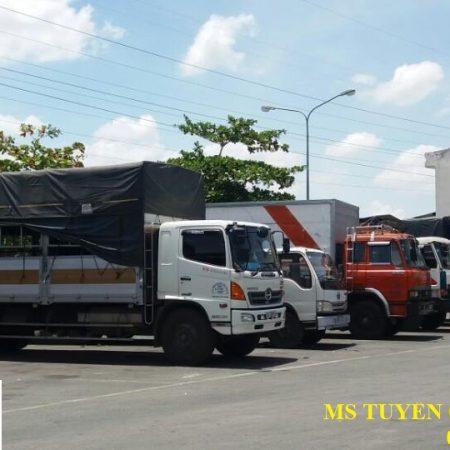 Chành xe chở hàng ghép ra Hoài Nhơn