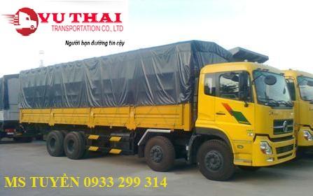Chành xe chở hàng về Tp Vinh Nghệ An