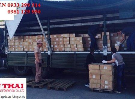 Nhận chở hàng ghép từ Sài Gòn đi Quảng Ninh