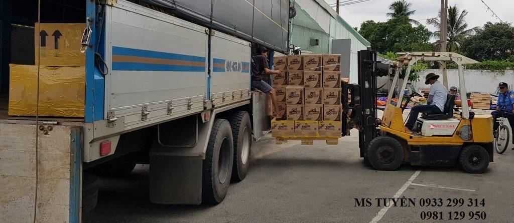 Chành vận chuyển hàng tới Phan Thiết