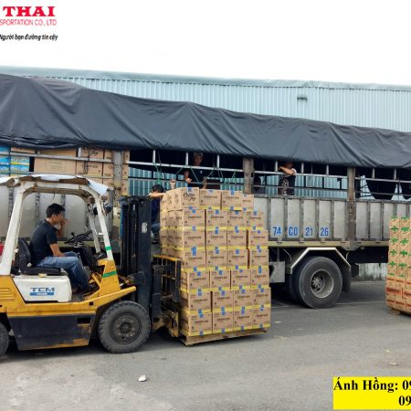 Vận chuyển hàng hóa đi Nghệ An tại Sài Gòn