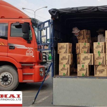 Chành xe vận chuyển ra Nghệ An
