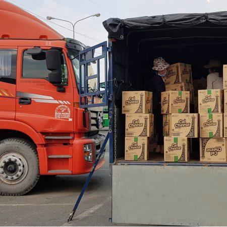 Chành chở hàng hóa đi Ninh Bình giá rẻ