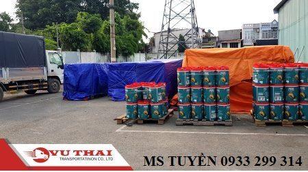 Nhận chở hàng ghép đến Nghệ An