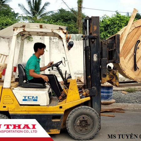 Chành xe chở hàng ghép ra Ninh Hòa