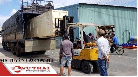 Chành xe chở hàng ghép ra Nha Trang