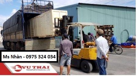 Chành xe gửi hàng từ SG đi An Giang