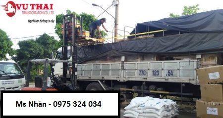 xe chuyên chở hàng ghép đi Ninh Hải