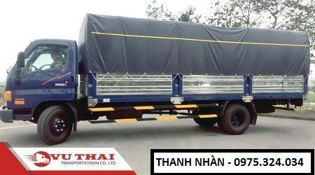 Chành cho thuê xe tải đi An Giang