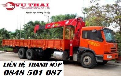 Chành xe gửi hàng HCM đến Thái Nguyên
