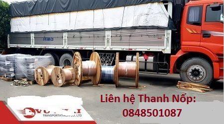 Vận chuyển sắt thép đi Kiên Giang