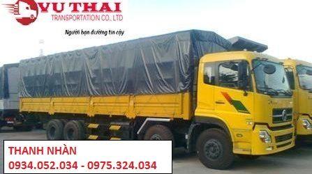 chành xe chuyển hàng từ TPHCM điHà Nội.