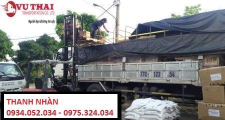 Chành xe chuyển hàng từ TP.HCM đi Hà Nội